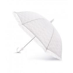 White Large Lace Communion/Special Occasion Parasol/Umbrella styl MIA
