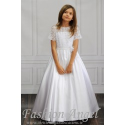 Elegant Handmade First Holy Communion Dress Style MONICA