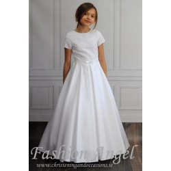 Simple Handmade First Holy Communion Dress Style SARA