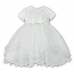 Sarah Louise Ivory Ballerina Length Flower Girls/Special Occasions Dress Style 070055-2