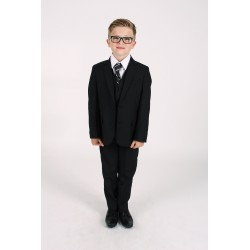 Black 5 Piece First Holy Communion/Special Occasion Suit Style RONAN
