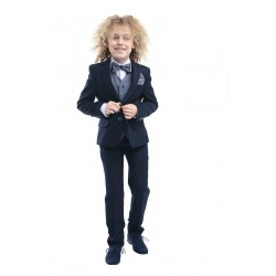 4 Piece Navy First Holy Communion/Special Occasion Suit Style PEDRO