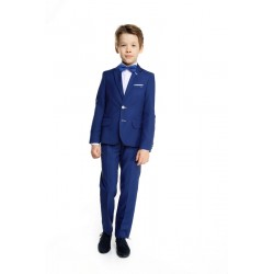 Navy 2 Piece First Holy Communion/Special Occasion Suit Style KOBALT WHITE