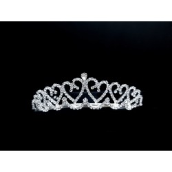 Silver First Holy Communion Tiara Style 5880