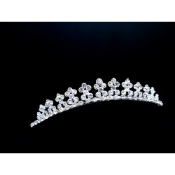 Silver First Holy Communion Tiara by Celebrations Style CH188