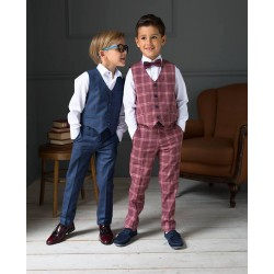 2 Piece Navy First Holy Communion/Special Occasion Suit Style 30621 BIS