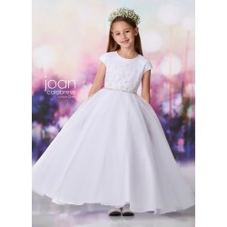 Joan Calabrese White First Holy Communion Dress Style 119381