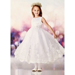 Joan Calabrese Ivory First Holy Communion Dress Style 119389