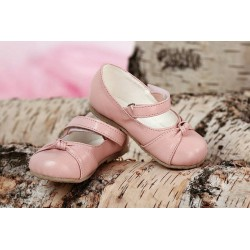 Girls Leather Christening/ Baptism Shoes D022