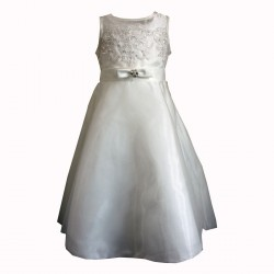 Sevva Ivory Flower Girl Dress Style SAMANTHA