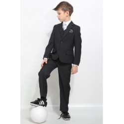 3 Piece Dark Graphite Communion/Special Occasions Suit Style PATRYK