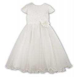 Ceremonial/Flower Girl Light Ivory Dress from Sarah Louise 070036-2