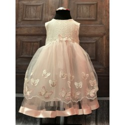 Christening/ Special Occasions Butterflies Dress Style 4956