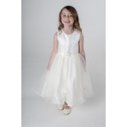 Ivory Flower Girl / Special Occasions Dress Style V349